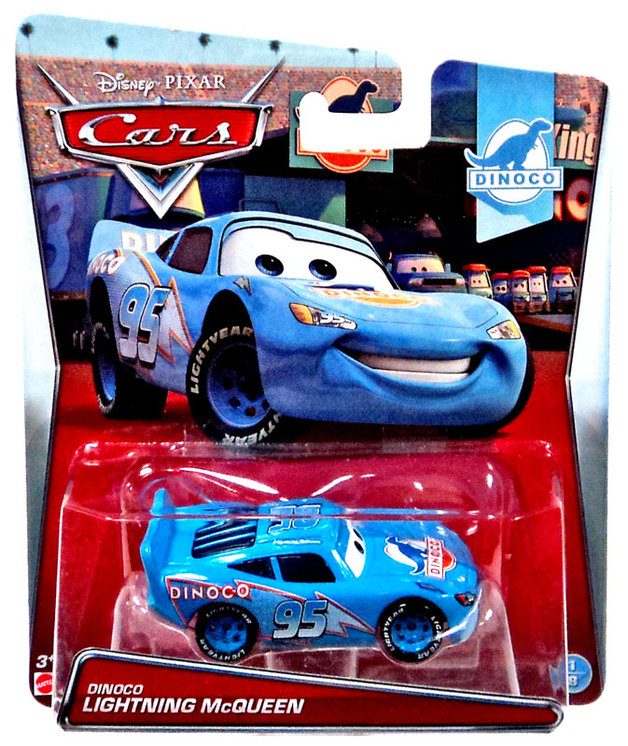 Cars Character Vehicles Dinoco Lightning Mcqueen Toy At Mighty
