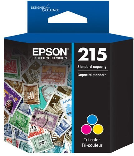 Epson Workforce Ink Cartridge 215 (Tri-colour)