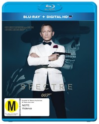 Spectre on Blu-ray