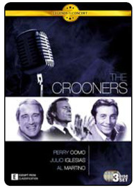 Legends in Concert - The Crooners (3 Disc Set) DVD