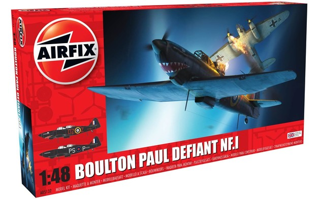 Airfix 1:48 Boulton Paul Defiant NF.1 - Model Kit