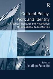 Cultural Policy, Work and Identity image