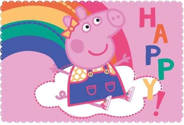 Peppa Pig Fleece Blanket