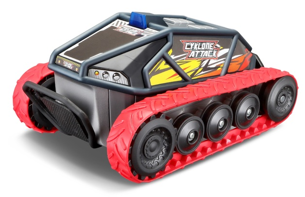Maisto: Cyklone Attack - RC Vehicle (Red)