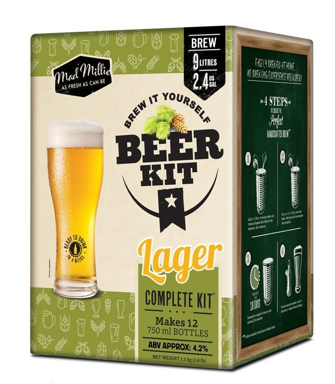Mad Millie - Brew it Yourself Lager Kit image