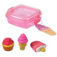 Sweet Treats Eraser Set