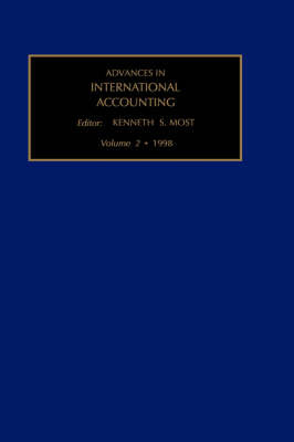 Advances in International Accounting: Volume 2 by Kenneth S. Most image