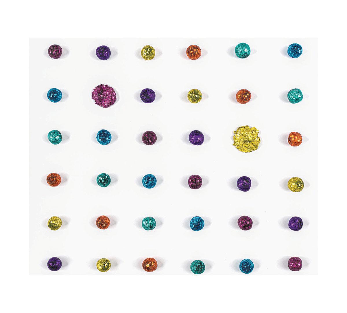 Crayola: Glitter Dots - Stencil Stickers image