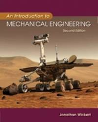An Introduction to Mechanical Engineering by Jonathan Wickert image