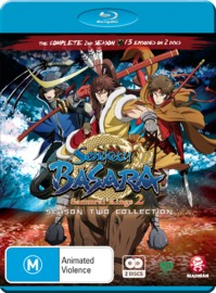 Sengoku Basara : Samurai Kings 2 - Season 2 Collection on Blu-ray