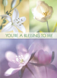 You're a Blessing to Me (Women's) Greeting Book image