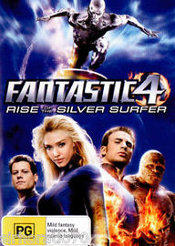 Fantastic 4 - Rise Of The Silver Surfer on DVD image