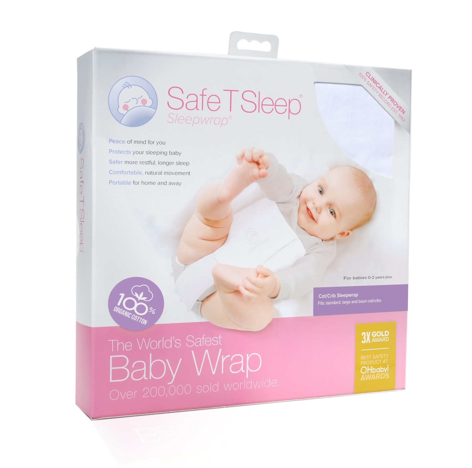 Safe T Sleep Sleepwrap - Cot/Crib image