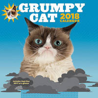 Grumpy Cat 2018 Wall Calendar by Grumpy Cat
