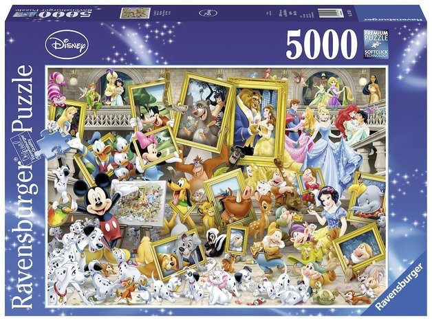 Ravensburger: Disney Favourite Friends - 5000pc Puzzle