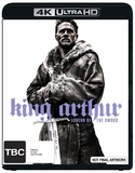 King Arthur: Legend of the Sword - 4K UHD + Blu-ray DVD