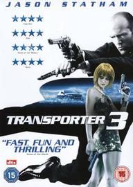 Transporter 3 on DVD