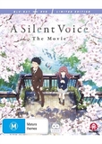 A Silent Voice - Limited Edition (DVD/Blu-ray) on DVD, Blu-ray