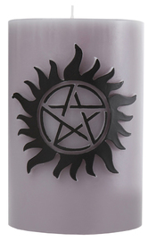 Supernatural: Sculpted Insignia Candle - Anti-Possession