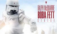 "Star Wars: Boba Fett (Ralph McQuarrie) - 18"" Statue"