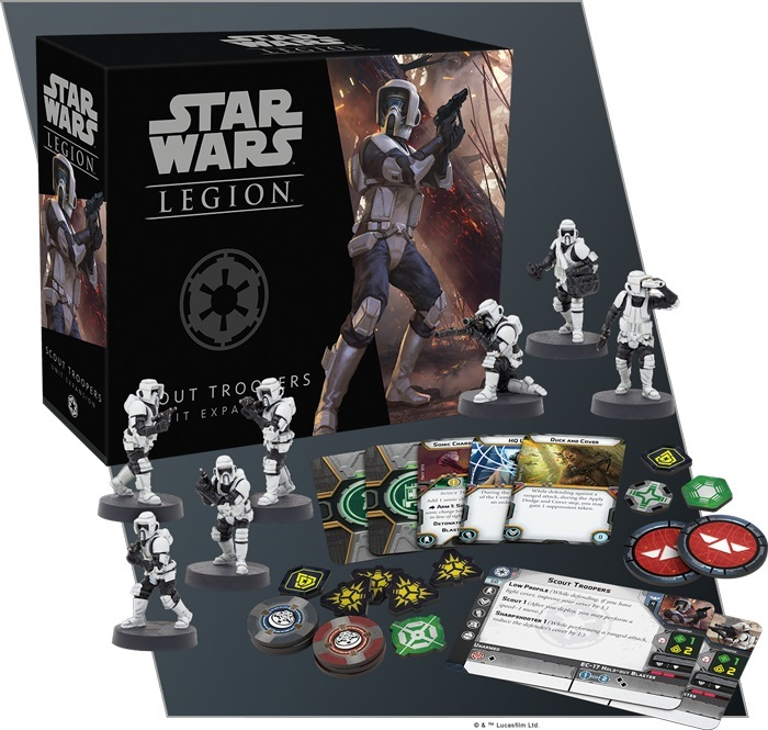 Star Wars Legion: Scout Troopers Unit Expansion image