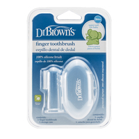 Silicone Finger Toothbrush with Case