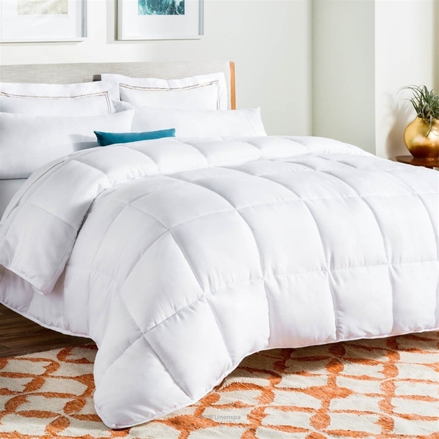 Royal Comfort: Goose Feather & Down Quilt - King (500GSM)