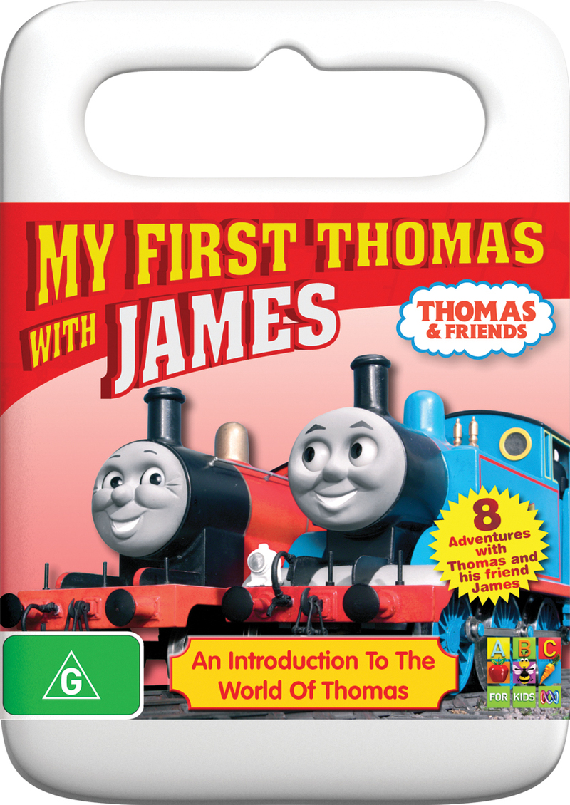 Thomas And Friends - My First Thomas with James on DVD image
