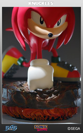 "Sonic the Hedgehog 10"" Statue - Knuckles the Echidna (Limited Ed. 1500)"