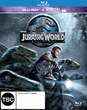Jurassic World on Blu-ray