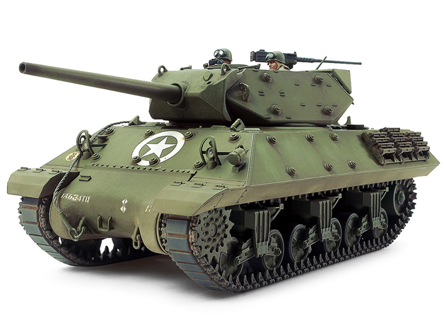 Tamiya U.S. Tank Destroyer M10 (Mid Production) 1/35 Kitset Model