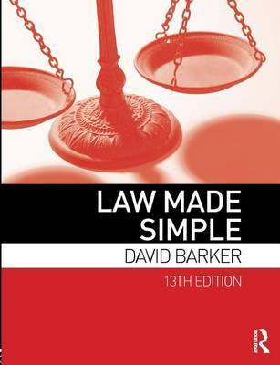 Law Made Simple by David Barker image