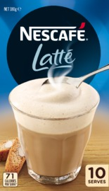 Nescafe Café Menu (Latte, 10pk)