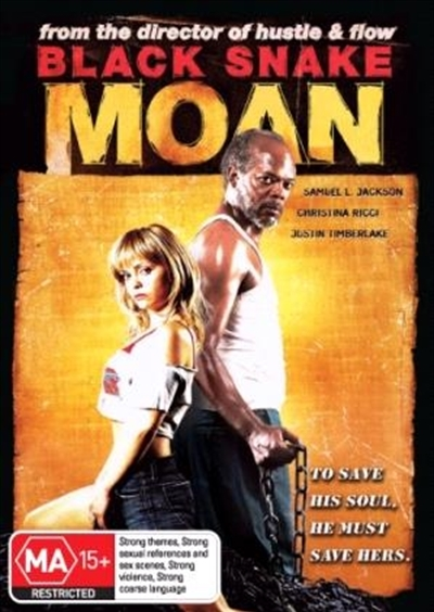 Black Snake Moan on DVD image
