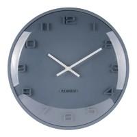 Karlsson Wall Clock - Elevated (Petrol Blue)