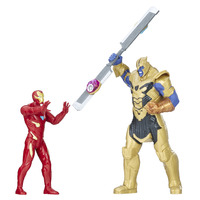 Avengers Infinity War: Iron Man Vs Thanos - Figure Battle Set