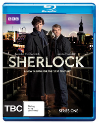 Sherlock - The Complete First Season on Blu-ray