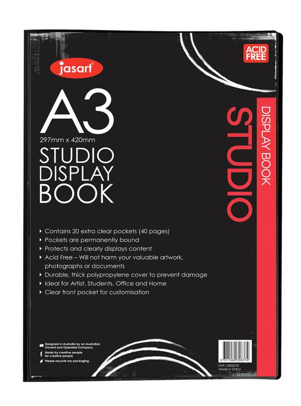 Jasart: Studio Display Book (A3)