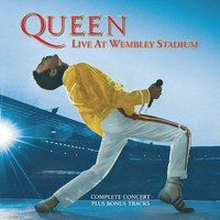 Live At Wembley Stadium by Queen image