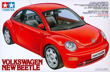 Tamiya Volkswagen New Beetle 1/24 Kitset Model image