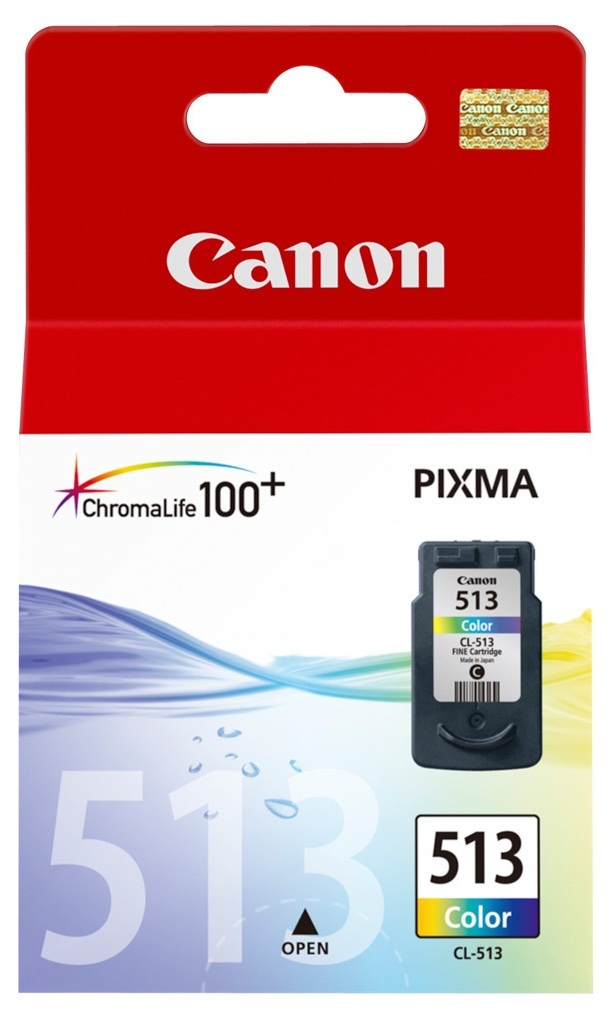 Canon High Yield Ink Cartridge - CL513 (Colour) image