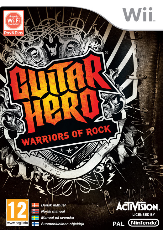 Guitar Hero: Warriors of Rock (Game Only) for Wii