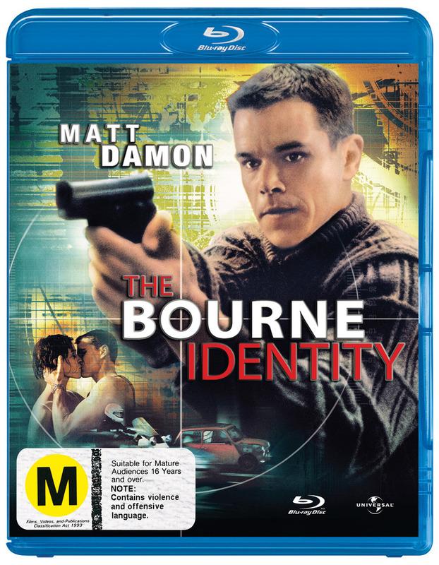 The Bourne Identity on Blu-ray