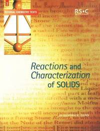 Reactions and Characterization of Solids by Sandra E. Dann image