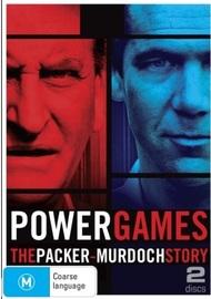 Power Games: The Packer-Murdoch War on DVD image