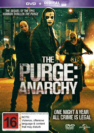 The Purge 2: Anarchy on DVD