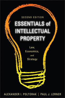 Essentials of Intellectual Property by Alexander I Poltorak image