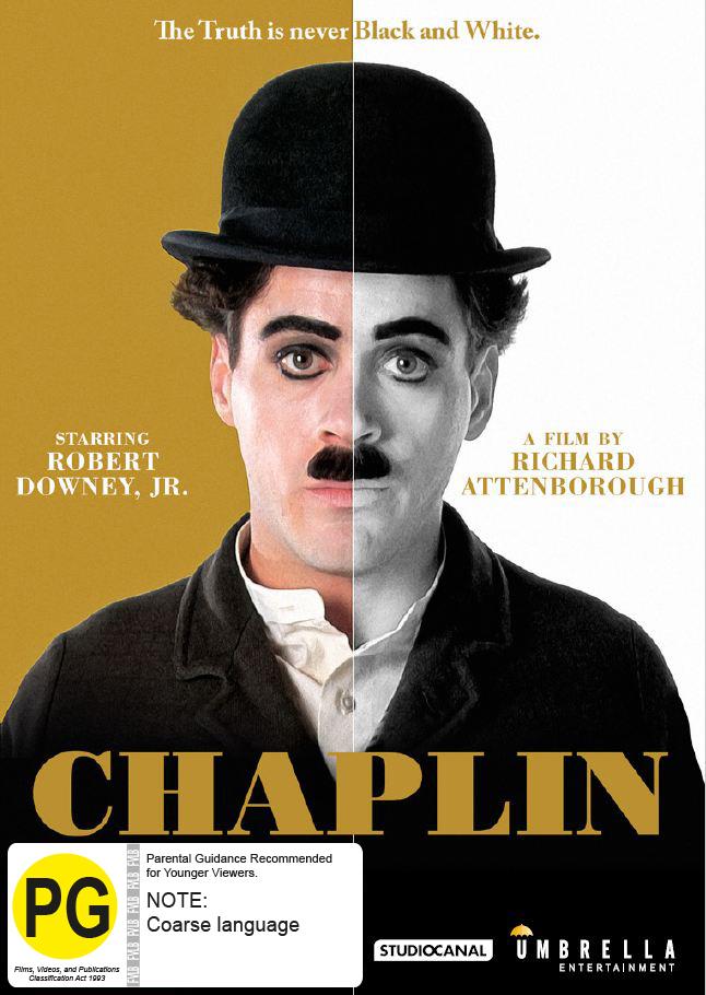 Chaplin on DVD image