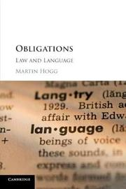 Obligations by Martin Hogg