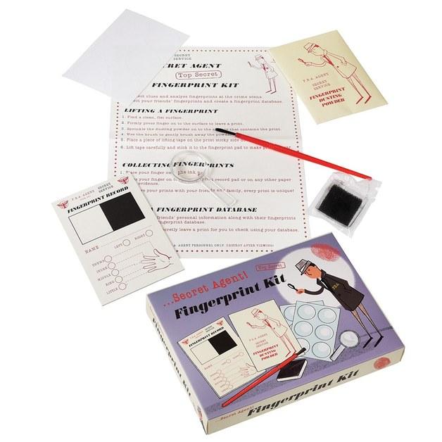 Secret Agent - Fingerprint Kit